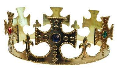 Hats Men - Gold Prince Costume Crown