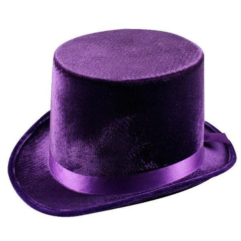 Hats - Top Hat Purple Lincoln