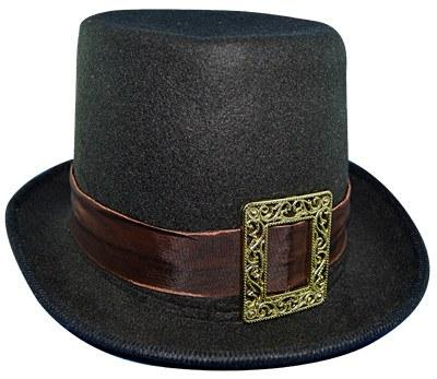 Hats - Top Hat With Buckle