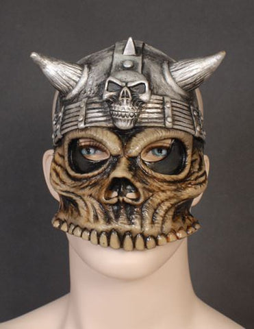 Latex Masks - Barbarian Half Face Mask