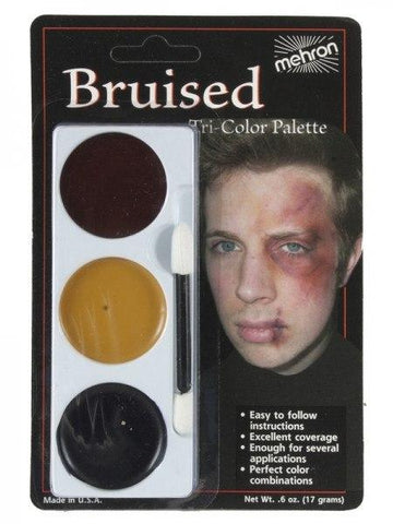 Makeup / Facepaint - Mehron Bruised Tri-Colour Palette