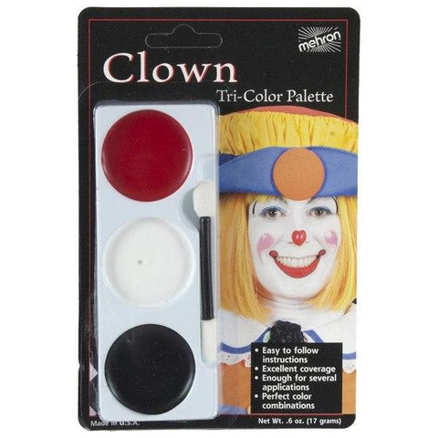 Makeup / Facepaint - Mehron Clown Make-Up Set