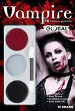 Makeup / Facepaint - Vampire Facepaint Palette Global Colours