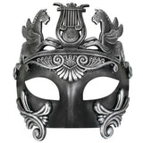 Masquerade Masks Men - Mask Cavalli Centurion Black