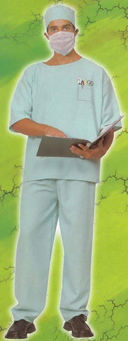 Men's Costumes - Doctor Costume Adult Scrubs