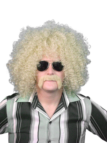 70s & 80s Blonde Afro Wig