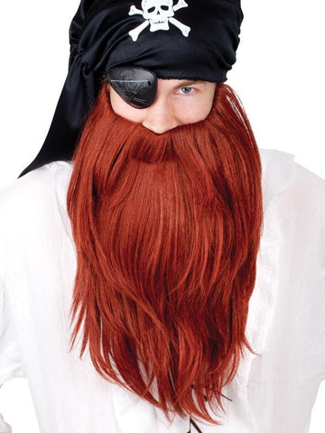 Moustaches/Beards - Beard Pirate Red
