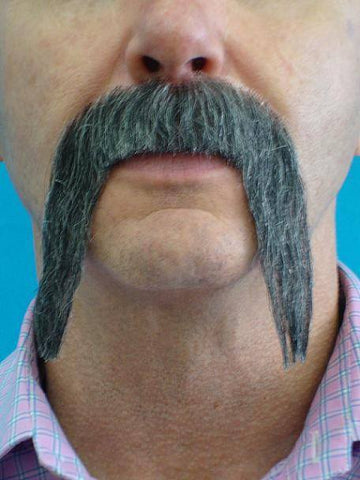Fake Mexican Grey Moustache