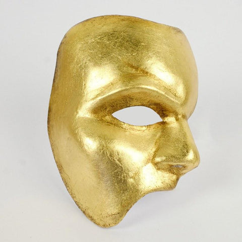 Phantom of the Opera mask finished in gold