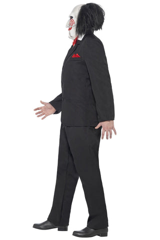 Saw Jigsaw Puppet Adult Halloween Costume Mens Licensed Fancy Dress