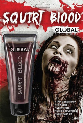 Special Effects - Fake Squirt Blood Halloween Make-up