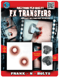 Special Effects - Frankenstein Bolts Halloween Make-Up 3D FX Transfers