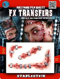 Special Effects - Staplestein 3D FX Halloween Make Up Transfers