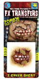 Special Effects - Zombie Cheek Decay - 3D FX Transfers