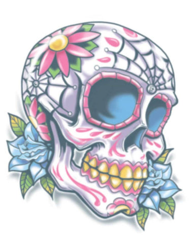 Tattoos - Day Of The Dead - Calaveras - Temporary Tattoo