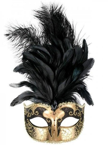 Feather Masquerade Masks