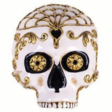 Venetian Day Of The Dead Skull Masquerade Mask