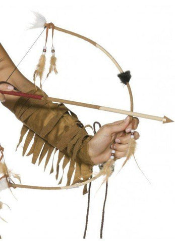 Weapons - Indian Bow And Arrow Set