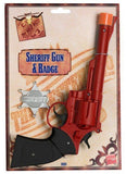 Weapons - Western Sheriff Gun And Badge Set