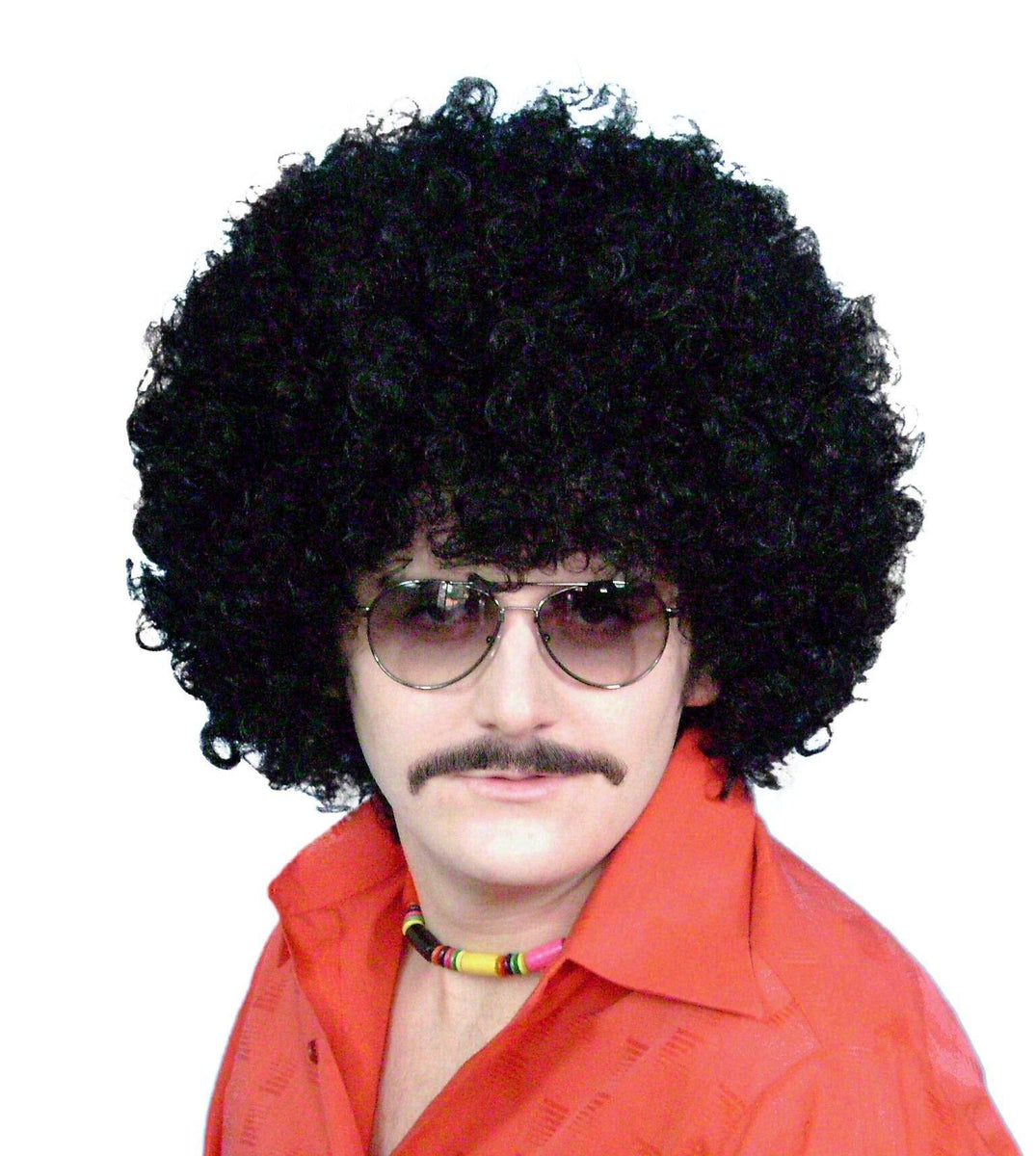 Big Black Adult Afro Wig 70 S Funky Disco Hair Disguises