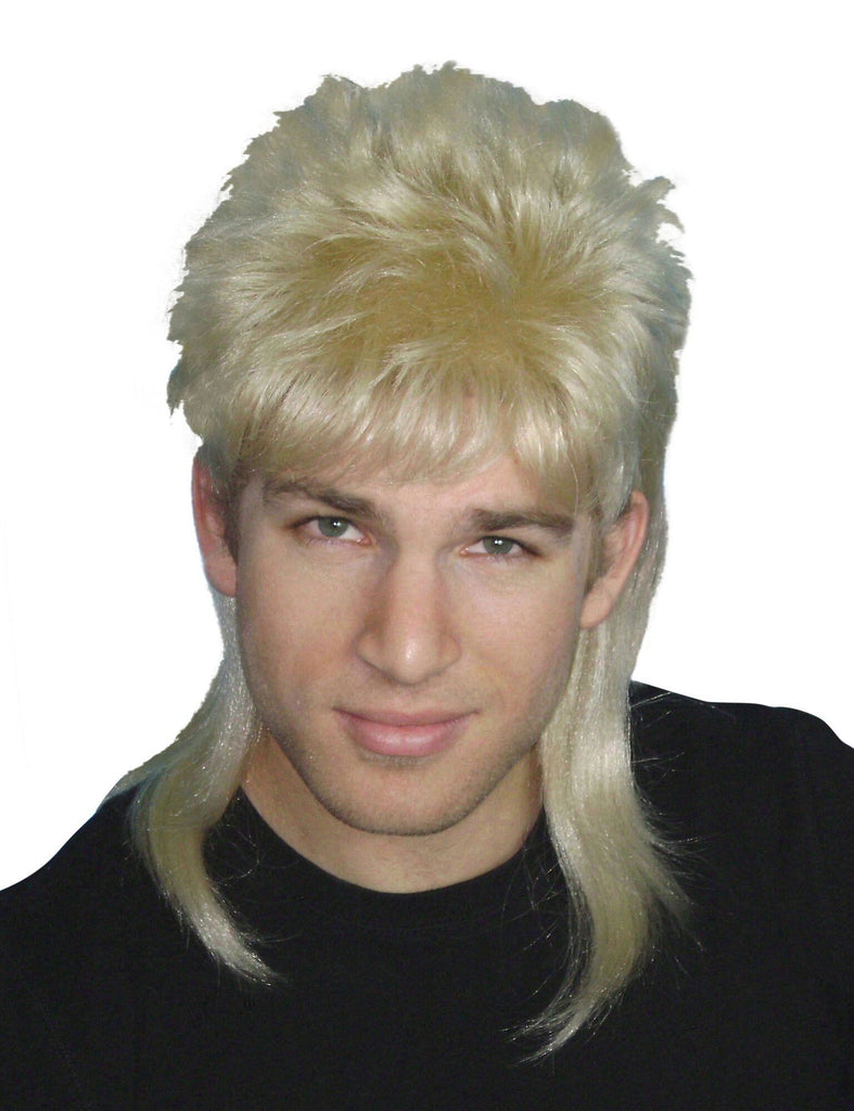Blonde 80/'s Hair Band Wig