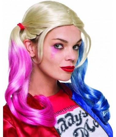 Suicide Squad Harley Quinn Wig