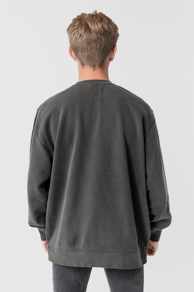 Unisex Crew Neck - Chalk Black