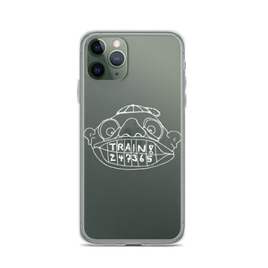 Train! 247365 iPhone Case with White Print