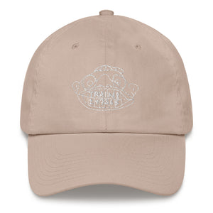 Train! 247365 Dad Hat with White Embroidery