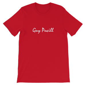 Guy Pucill T-Shirt with White Print