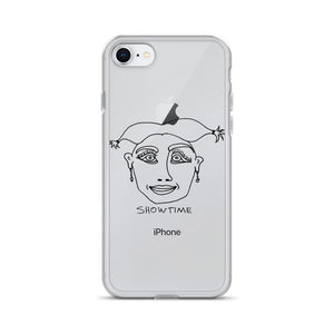 Showtime iPhone Case with Black Print