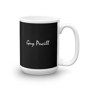 Guy Pucill Mug with White Print