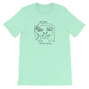 Natural Princess T-Shirt with Black Print