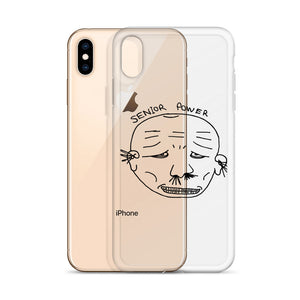 Senior iPhone Case with Black Print