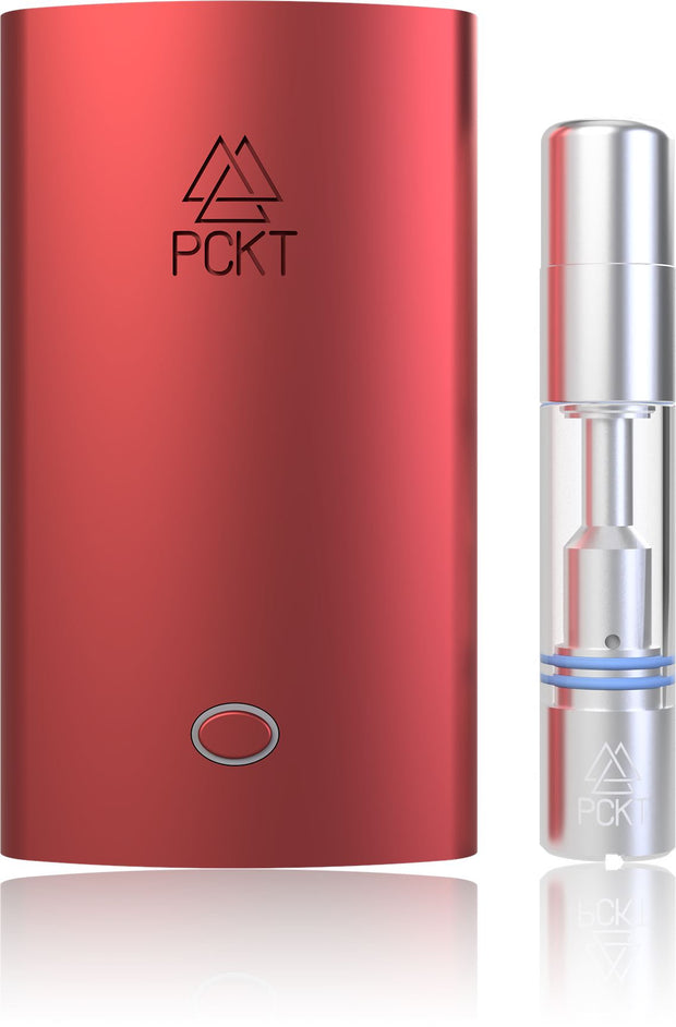 PCKT One Plus Alternative Vaporizer Crimson