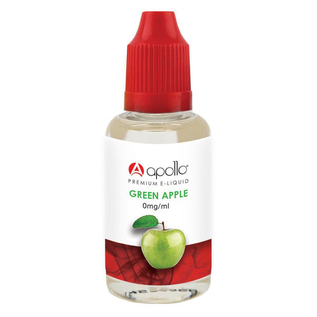 Apollo 50/50 - Green Apple E-Liquid