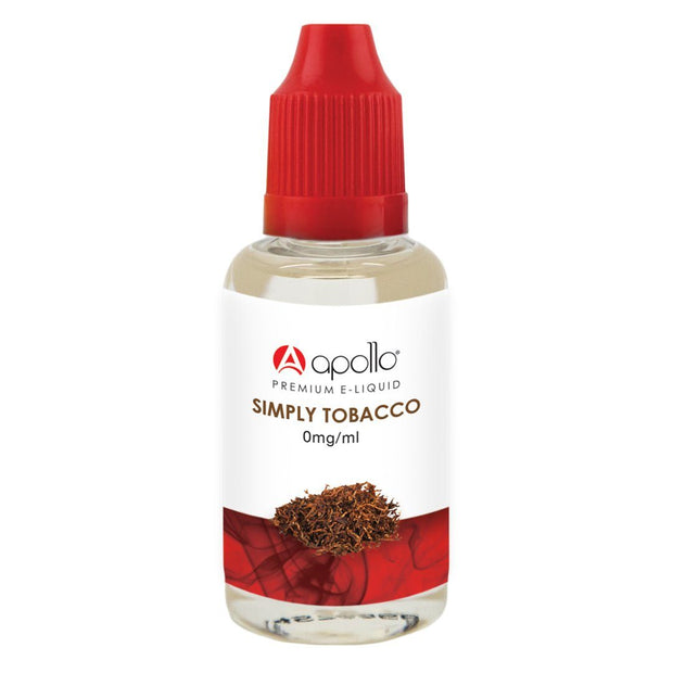Apollo 50/50 - Simply Tobacco E-Liquid