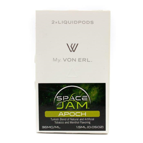 Von Erl Replacement Pods - 2 Pack 1.5ml - Space Jam Apoch