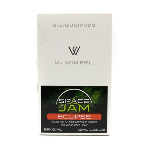 Von Erl Replacement Pods - 2 Pack 1.5ml - Space Jam Eclipse