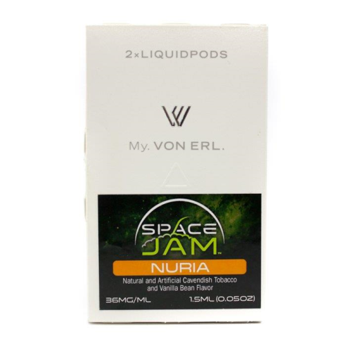 Von Erl Rplacement Pods - 2 Pack 1.5ml - Space Jam Nuria