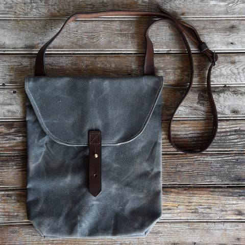 Hunter Satchel - Slate