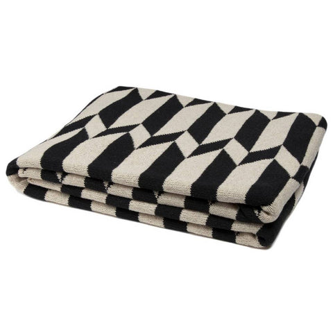 Eco Reversible Chevron Throw