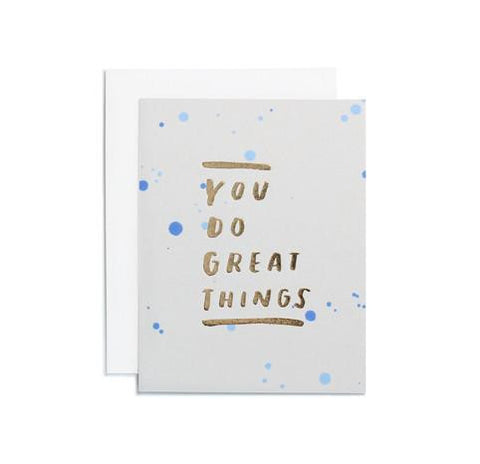 Great Things Card