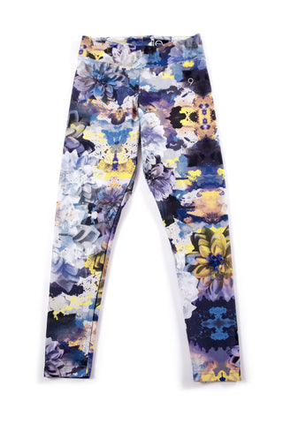 Black Dahlia Floral Yoga Legging