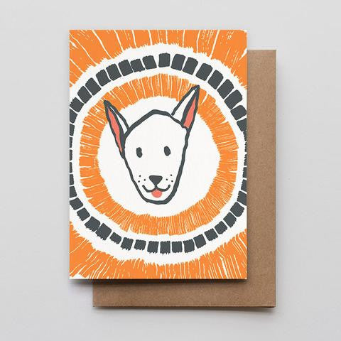 Happy Dog Note Card