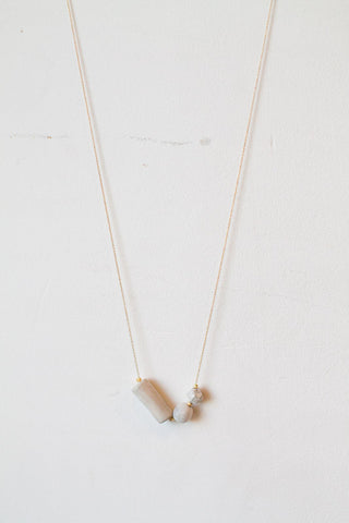 White Clay Necklace