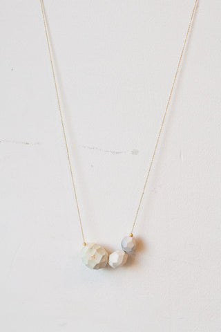 Geo Clay Necklace