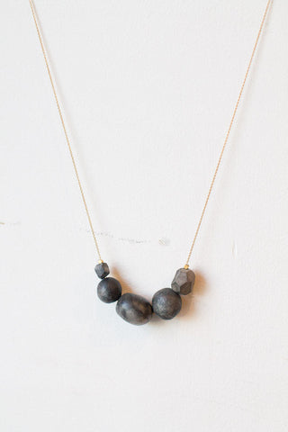 Dark Clay Necklace