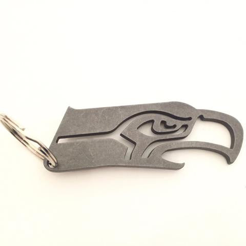 Seahawks Keychain Bottle Opener