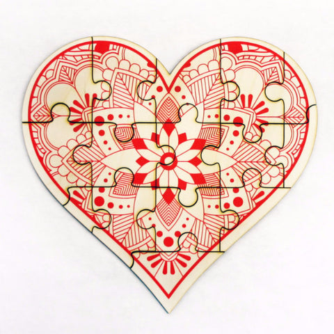 Heart Jigsaw Puzzle